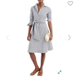pinstriped button dress retail $59.00 Nordstrom